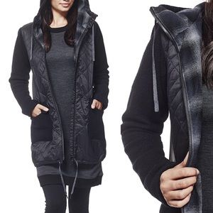 Ice Breaker Departure Quilted Merino Jacket NWT
